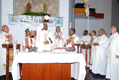 Ordination in Antigua